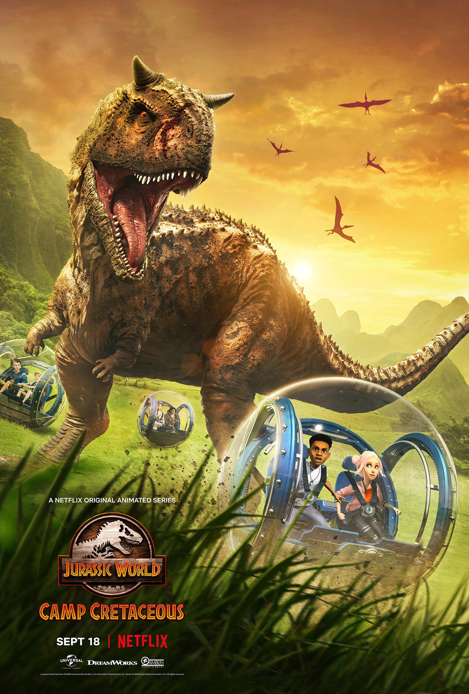 Jurassic World Camp Cretaceous Season 1 จูราสสิค เวิลด์ ค่ายครีเทเชียส ปี1 พากย์ไทย