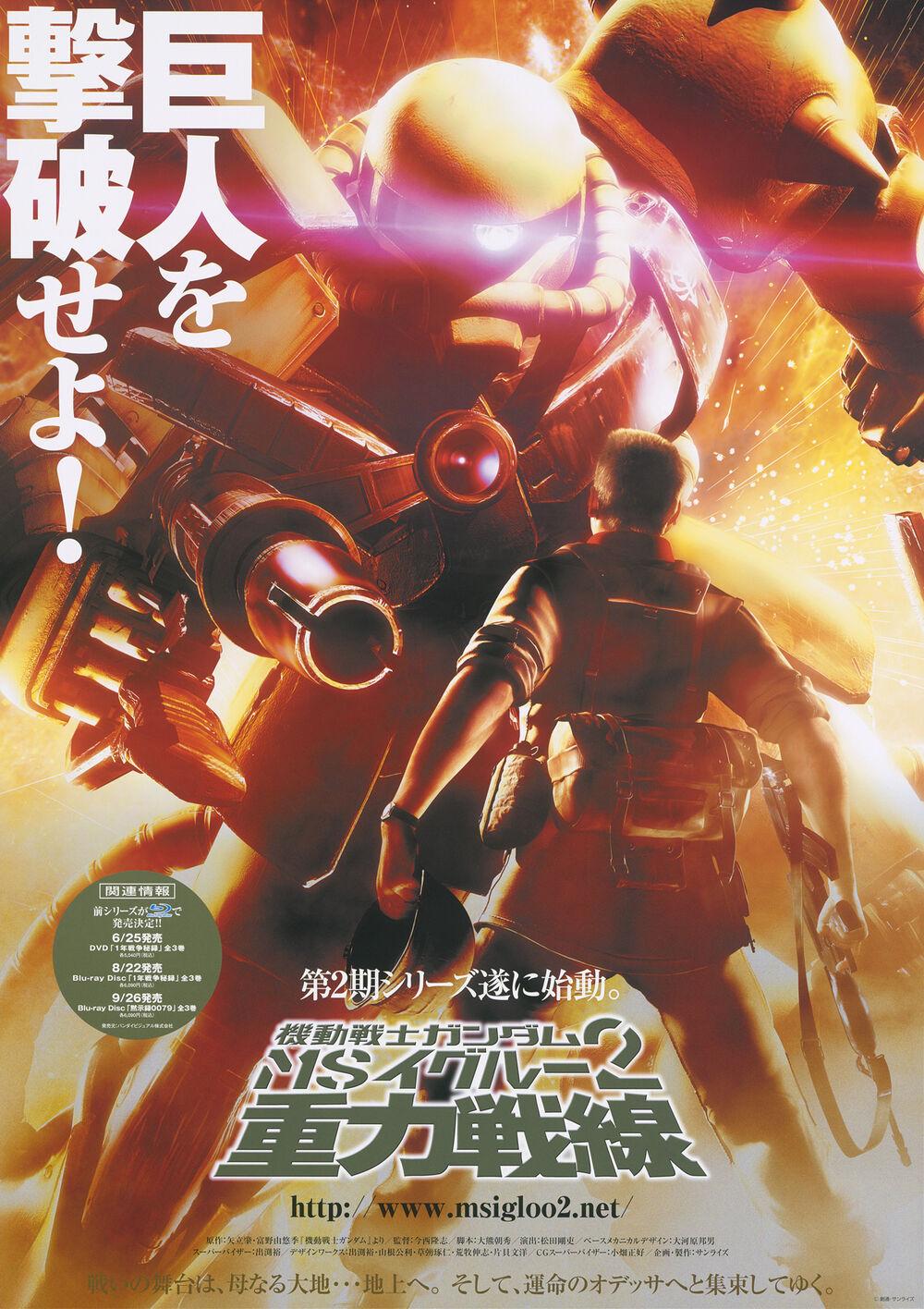 Mobile Suit Gundam MS IGLOO : The Gravity Front พากย์ไทย